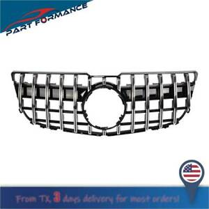 Gt R Style Front Grill Grille Fit Mercedes Benz Glk X204 Glk250 Glk300 Glk350