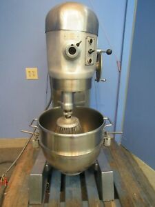 Hobart H600dt Deluxe 60 Qt Commercial Dough Mixer Plus Beater Hook Dolly