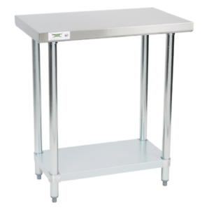 18 X 30 Stainless Steel Work Prep Shelf Table 18 Gauge Commercial Restaurant