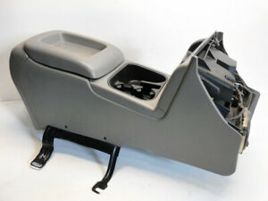 2003 2006 Chevy Silverado Center Console Sierra Tahoe Yukon Pewter Light Gray
