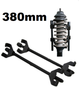 Coil Spring Compressor Heavy Duty Pair Of Suspension Clamps 380mm Tool For Car