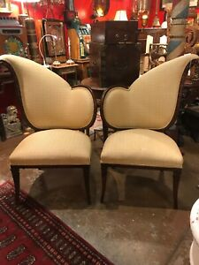 Pair Of Antique Art Deco Chairs