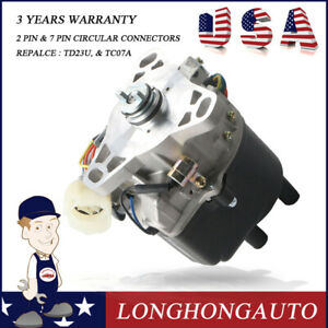 Ignition Distributor For 90 91 Acura Integra W Manual Transmission Td23u