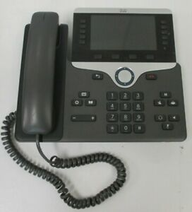 used Cp 8851 Cisco Voip Business Phone Base no Cables no Stand