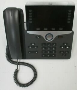 used Cp 8851 Cisco Voip Business Phone Base W Stand no Power Cable