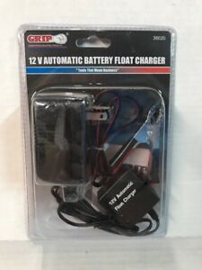 Grip 38020 12 Volt Automatic Battery Float Charger