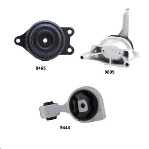 Engine Motor Trans Mount Set 3pcs For Nissan Altima 2 5l 2007 2018