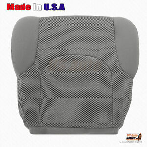 For Driver Bottom Cloth Seat Cover 2008 2009 2010 Nissan Frontier In Steel Gray
