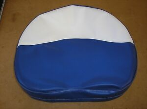 Ford Ferguson Tractor New Blue White Vinyl Pan Seat Cover 19 13 14