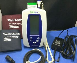 Welch Allyn 420tb Spot Vital Signs Monitor W Power Thermometer
