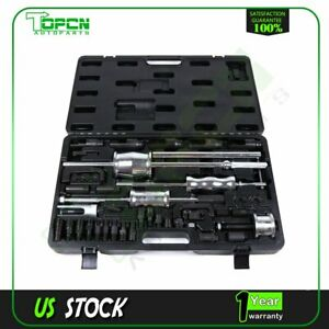 40pc Diesel Injector Puller Remover Master Tool Kit Extractor For Mercedes Audi