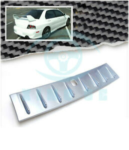 Painted Shark Fin Silver Vortex Generator Roof Spoiler Wing For Evo 10 X Pb