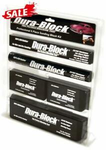 Dura Block Sanding Block Set 7 Piece Kit Auto Body Shop Tools Car Truck Garage