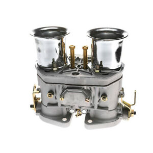 48 Idf Carburetor Carb Fit For Solex Dellorto Weber Empi 48mm W Air Horns