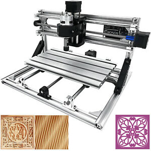 3 Axis Cnc Router Kit 3018 Engraver Usb Port Injection Molding Material T8 Screw