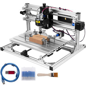 Vevor Cnc 3018 Router Kit 3 Axis Grbl Control Wood Milling Machine Wood Plastic