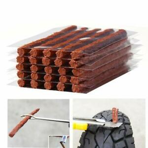 50x Self Vulcanizing Tire Repair Plug Tubeless Seal Patch For Tyre Maintenance