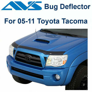Avs Aeroskin Smoke Hood Protector Bug Shield For 2005 2011 Toyota Tacoma 322034