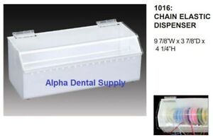 Plasdent Orthodontic Chain Elastic Dispenser 9 7 8 w X 3 7 8 d X 4 25 h 1016