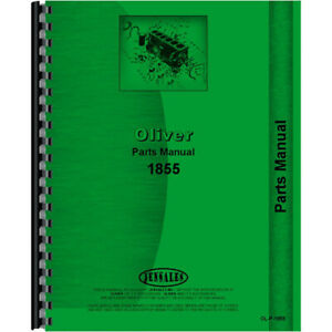 New Oliver 1855 Tractor Parts Manual