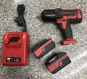 Snap On Ct8850 1 2 Dr 18v Cordless Impact Wrench Kit A X