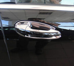 Mercedes S Class W221 Chrome Door Handle Inserts By Luxury Trims 2007 2009 4pc