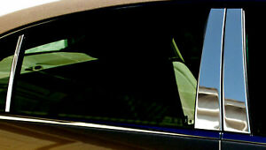 Toyota Yaris 3d Stainless Steel Chrome Pillar Posts By Luxury Trims 2007 2011 6p