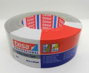 Duct Tape Tesa 4662 Strong Silver 1 88 X 60y 48mmx55m 9mil Buy 12 Rolls