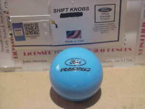 2005 2014 Mustang Ford Racing Licenced Shift Knob grabber Blue