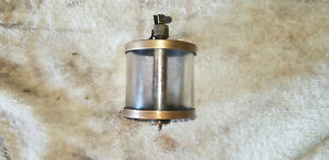 Essex Brass Corp Oiler Machine Hit Miss Gas Engine Vintage Antique