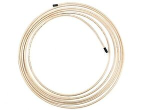 15 Ft Roll Of 3 16 028 Wall Copper Cupronickel Brake Line Tubing