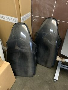 Porsche 996 Carbon Fiber Hard Shell Seat Backs