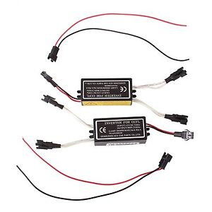 Spare Inverter Ballast For Ccfl Bmw Angel Eyes Halo Rings Kit 4 outputs Female L