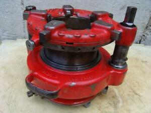 Ridgid 161 Die Pipe Threader 4 To 6 Inch Works With Ridgid 300 Great Shape