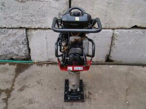 Central Pneumatic Jumping Jack Tamper Rammer With Honda Motor Made In 2015 Mint