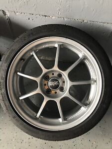 Oz Alleggerita Hlt 4x100 Michelin 205 45 R17 17x7 Mini Cooper Wheels