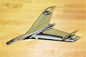 1956 Chevy Chrome Hood Bird Sedan Hardtop Bel Air 210 150 New