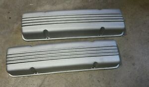Cadillac 331 365 390 425 Finned Aluminum Eelco Valve Covers Fits 49 62