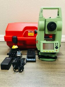 Leica Tcr407 Reflector Less Total Station For Surveying