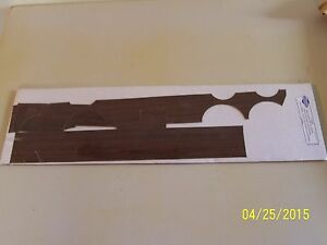 New 1964 Mercury Comet Caliente Complete Woodgrain Dash Kit 4 Pcs F209