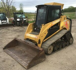 2009 Asv Sr 80 Track Skid Steer 80 Hp Cab Ac heat 2 Spd High Flow