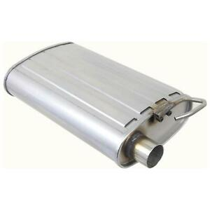 1pc Stainless Steel Muffler Exhaust For 1998 2004 Ford Mustang Base 3 8l