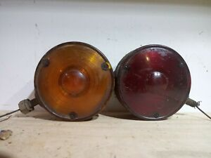 Vintage 1940 S 1950 S Chevy Truck Brake Light Assembly Nos Guide D6 52a Antique