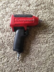Obo Snap On Tools Super Duty Impact Air Wrench 3 8 Drive Mg325