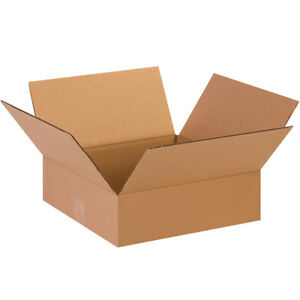 Lot Of 5 Corrugated Shipping Boxes 13 X 13 X 4 32 Ect Brand New