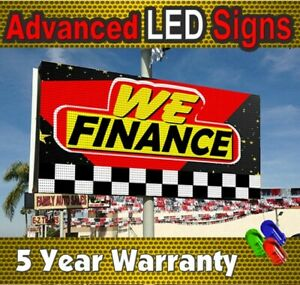 Usa Led Display Signs 50 x_19 10mm Full Color Electronic Message Center