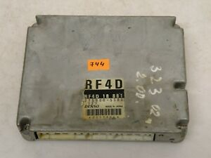 Mazda 323 2002 2 0 Diesel Engine Control Unit Module Ecu 2758005380