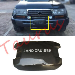 Front Bumper Winch Covertrim For Toyota Land Cruiser Lc80 4500 Fzj80 1992 1998