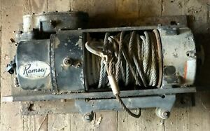 Ramsey Truck Mounted Electric Winch 12 000 Pound