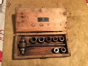 The Billing Tool Company Vintage Socket Set